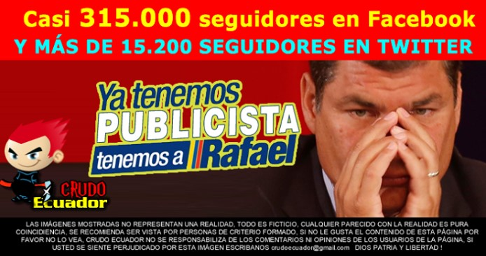 Crudo Ecuador meme after Correa's TV address