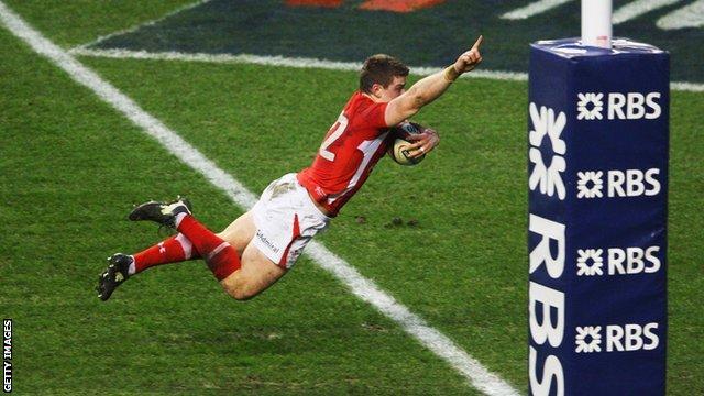 Scott Williams v England 2012