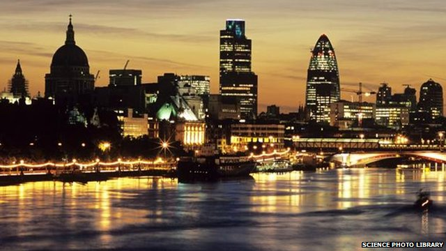 City of London skyline