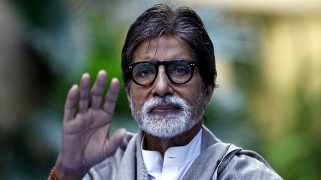 Bollywood star Amitabh Bachchan