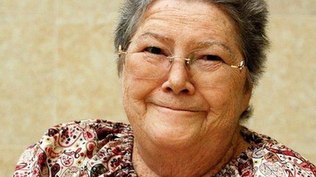 Australian writer Colleen McCullough