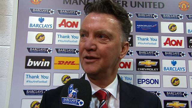 Robin van Persie was offside - Manchester United manager Louis van Gaal