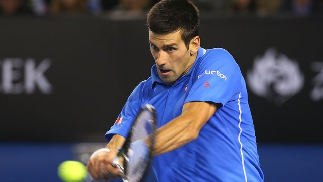 Novak Djokovic back in front after third set