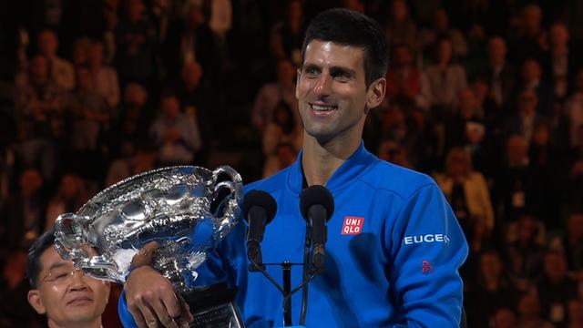Novak Djokovic wins Australian Open