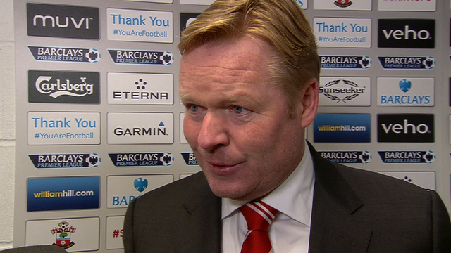 Southampton manager Ronald Koeman will appeal red card