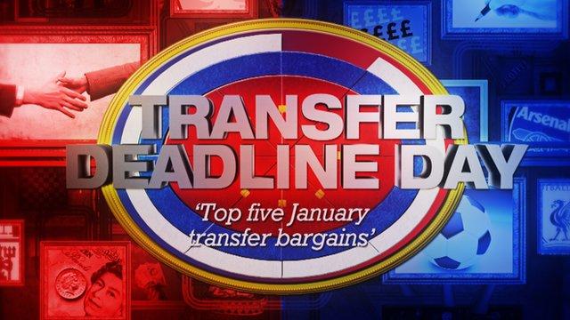 Bargain Hunt: Top 5 January transfers