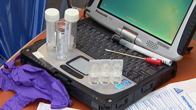 Forensics equipment