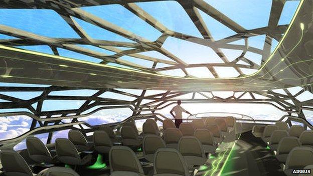 Airbus future cabin concept
