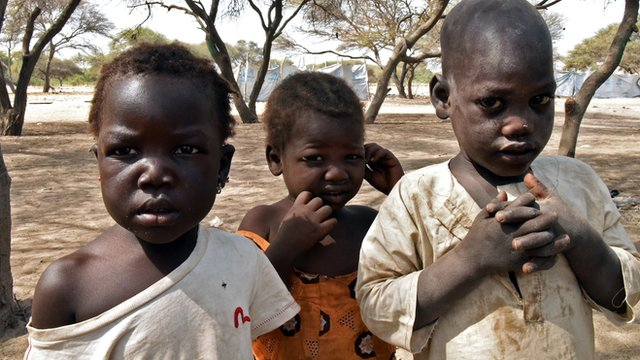 Baga refugees