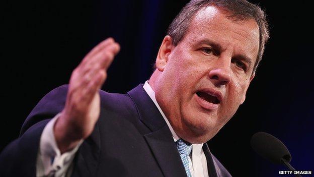New Jersey Governor Chris Christie.