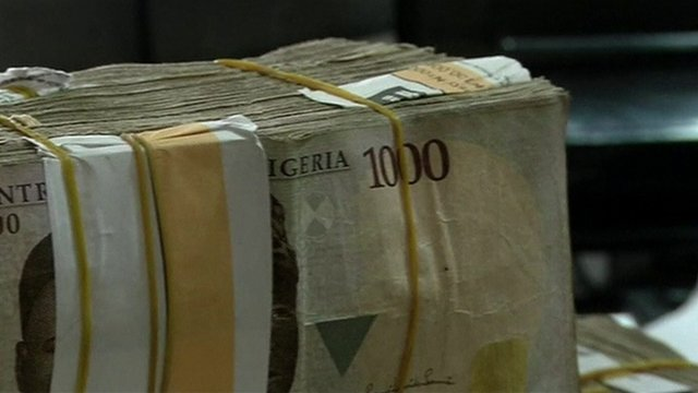 The naira, Nigeria's national currency