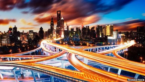 Shanghai motorways