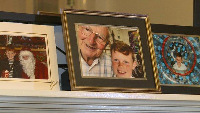 Josh and his Granddad