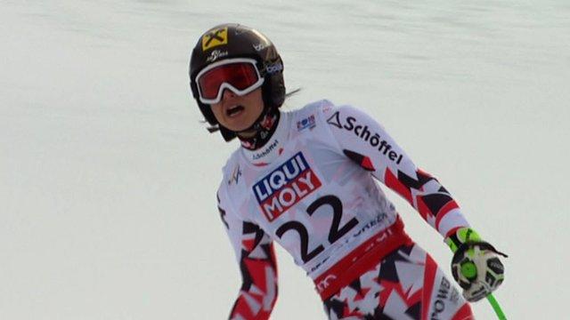 Austria's number one speed skier Anna Fenninger