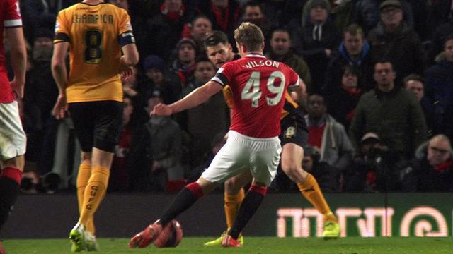 Manchester United forward James Wilson