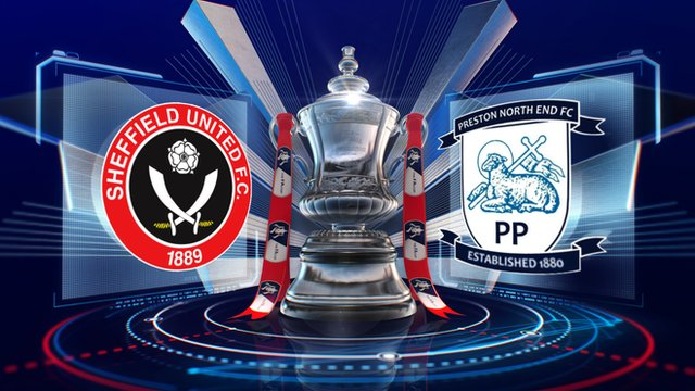 Sheffield United 1-3 Preston North End FA Cup fourth-round replay highlights