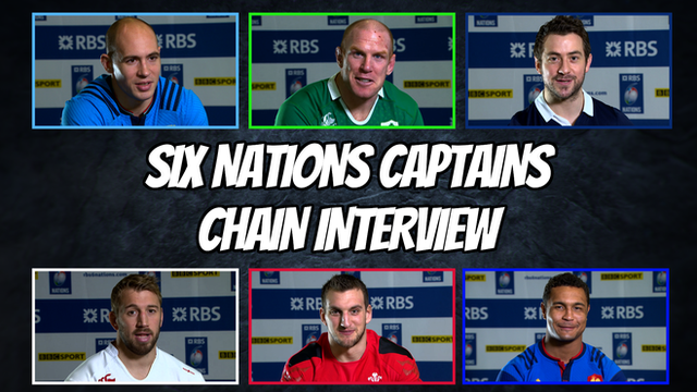 Six Nations 2015: Captains take our chain interview