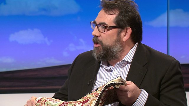 Martin Winter with mat