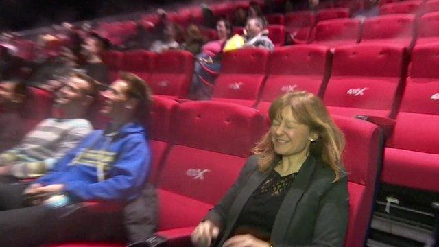 Jo Black in 4DX cinema