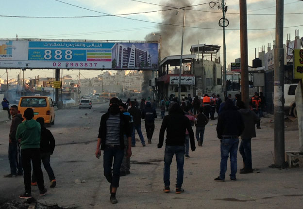 Clashes near checkpoint