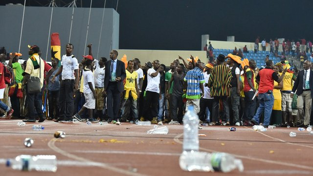 Africa Cup of Nations violence