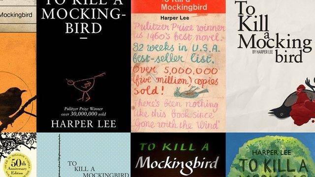 To Kill a Mockingbird bookcovers