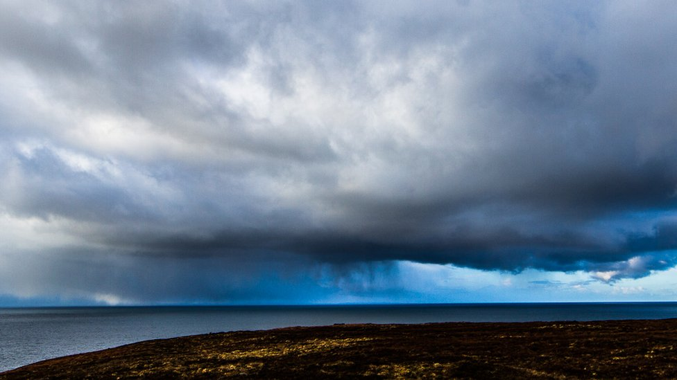 Storm at Gairloch