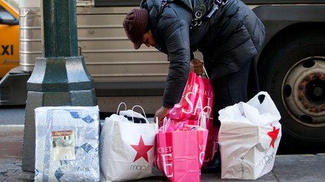 Shopper, New York