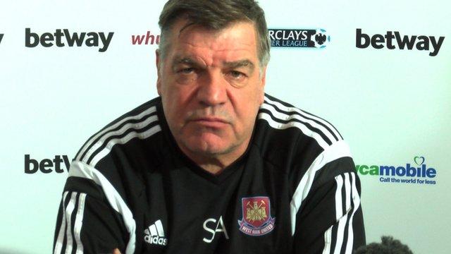Sam Allardyce has hit out at Premier league officials