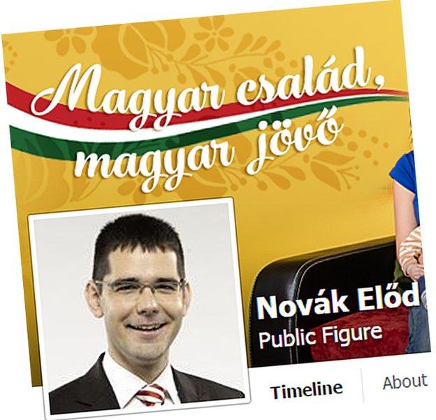 Elod Novak's facebook page