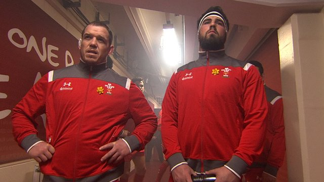 Wales stand off in tunnel