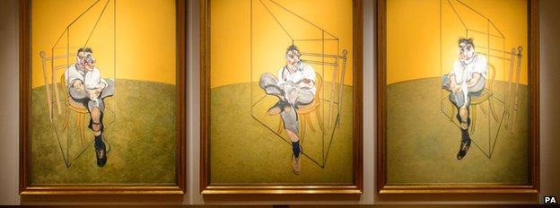 Francis Bacon's Three Studies of Lucian Freud