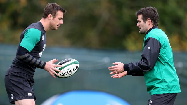 Tommy Bowe and Jared Payne started for Ireland against Italy