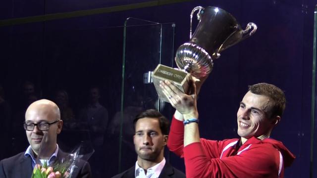 Matthews lifts the Swedish Open trophy