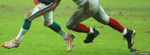 American football players (file image)