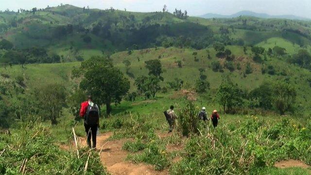 Rebels in DRC