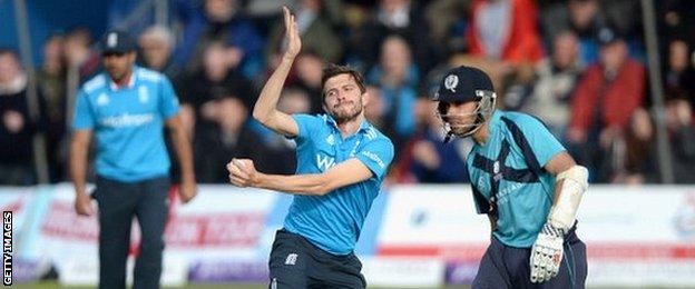 Cricket World Cup: Preston Mommsen says Scotland 'best prepared'