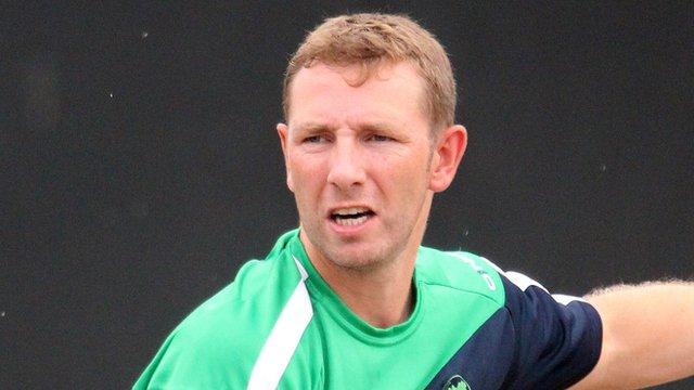 Ireland cricketer Andrew White