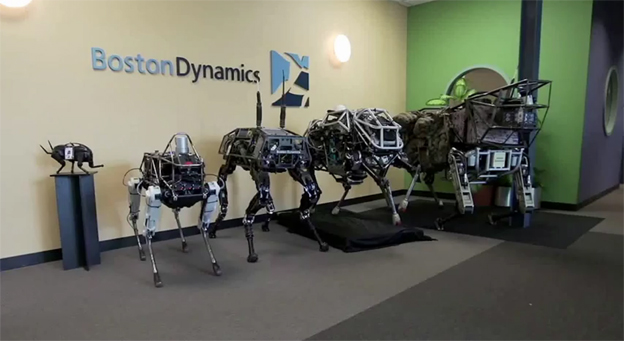 Spot and other robot dogs