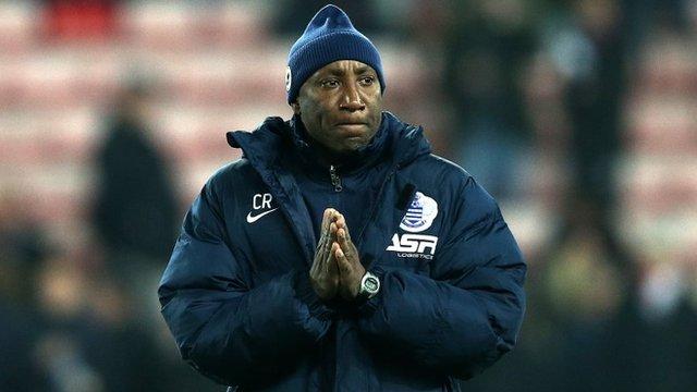 QPR caretaker boss Chris Ramsey