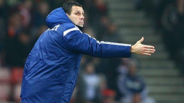 Sunderland boss Gus Poyet