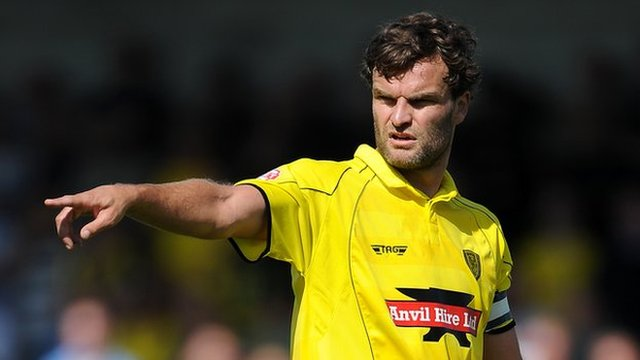 Ian Sharps, on loan to AFC Telford United from Burton Albion