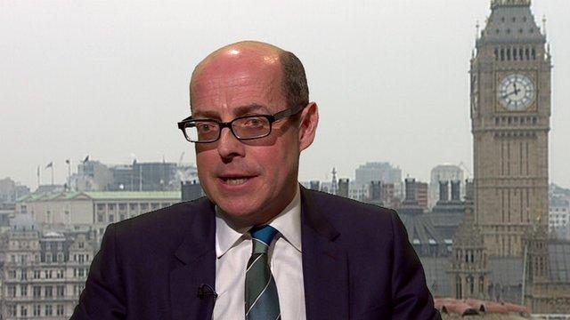 BBC Political Editor Nick Robinson
