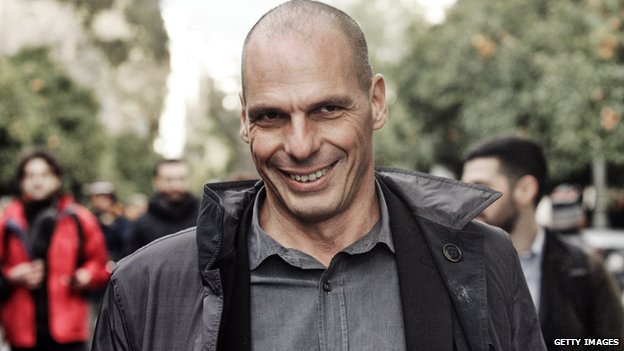 Yanis Varoufakis, Greece's finance minister