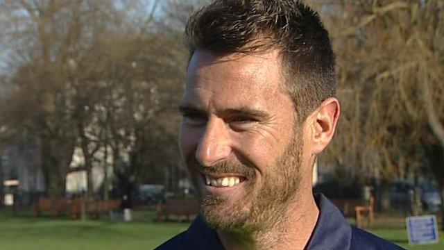 Ireland's South African-born bowler Max Sorensen