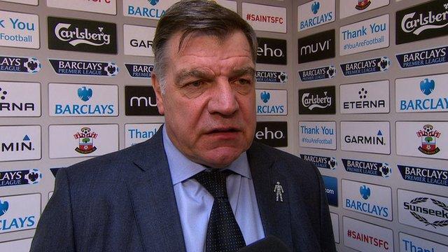 West Ham United boss Sam Allardyce