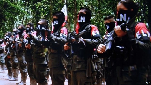 ELN fighters, January 2015