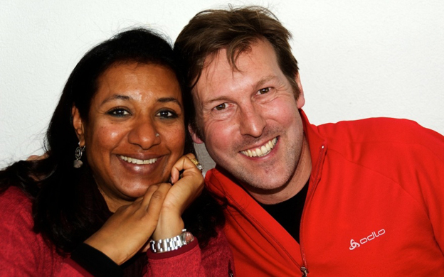 Mark Freudweiler and his wife Tania