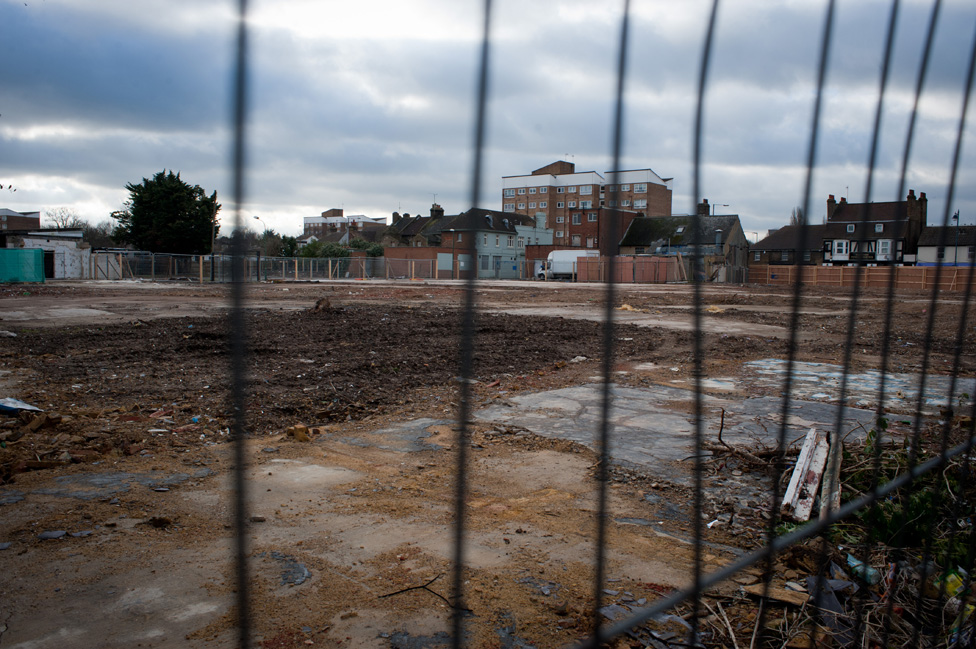 Land bought by Tesco - Dartford