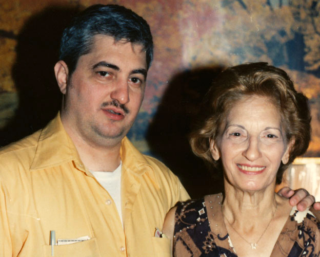 John Wojtowicz and his mother, Terry